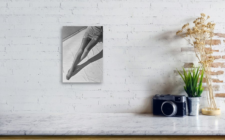 90317663f8b Security Wood Print featuring the photograph Silk Stockings by Chaloner  Woods. Wall View 001