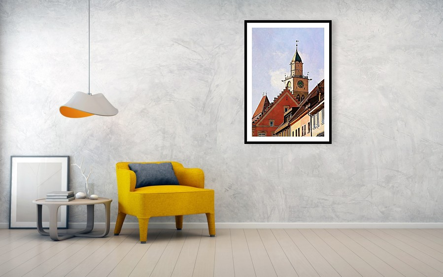 Uberlingen Roofs framed print by Tatiana Travelways