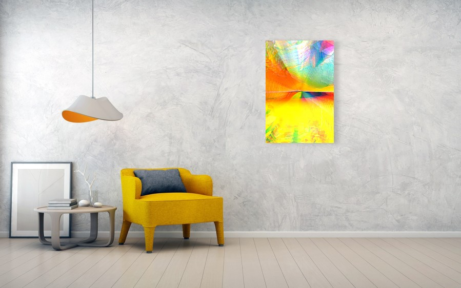 Abstract Landscape, Wall View, with armchair