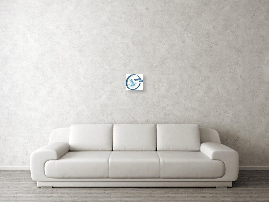 3d Gluten Free Symbol On White Background  Vector Illustration  Acrylic  Print