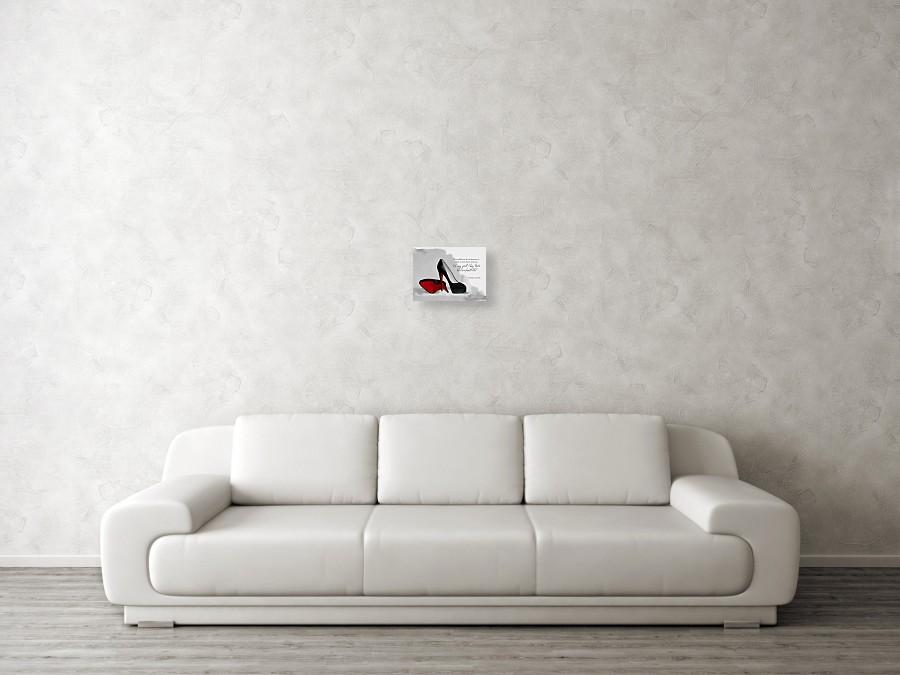 59183e99534 Oh My God Louboutin Canvas Print