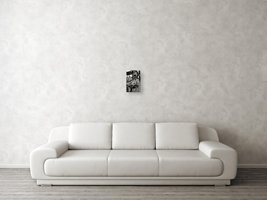 d1e9e45bc8245 ... Canvas Print featuring the photograph Cowboy And The Ten Gallon Hat by  Jonathan. Wall View 001. Wall View 002. Wall View 003