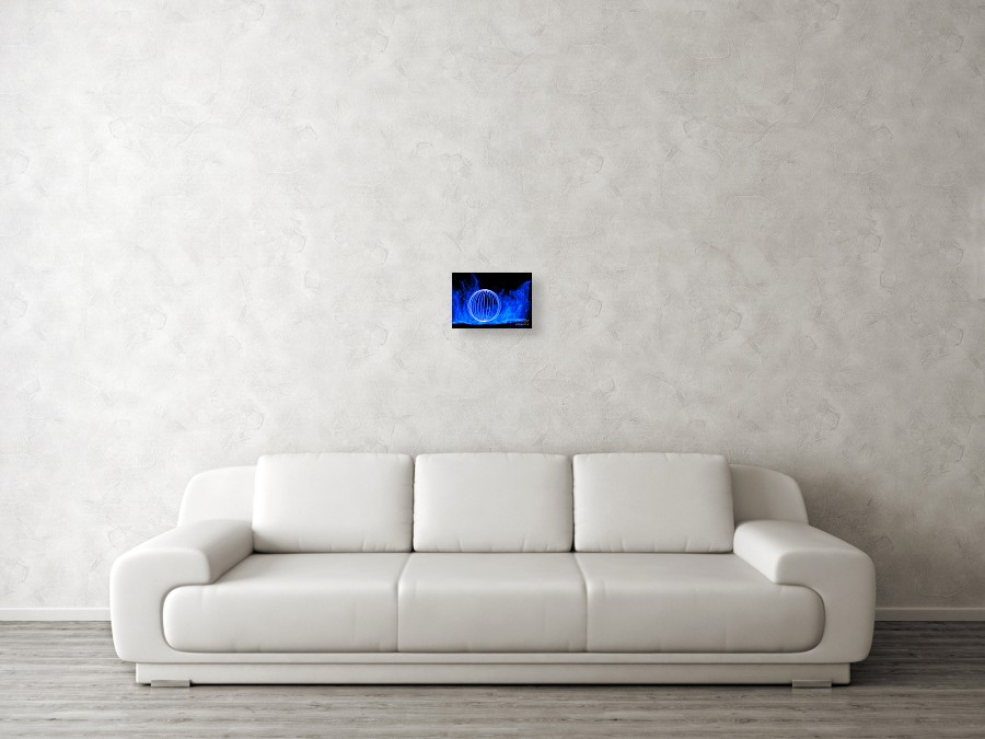 El Wire And Leds Canvas Print / Canvas Art by Jamie Rabold