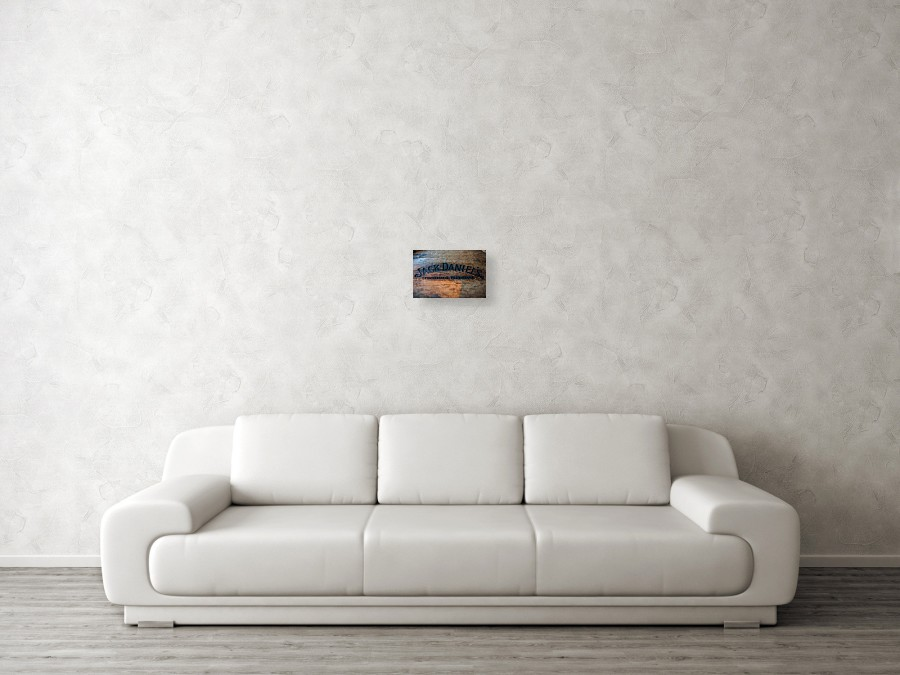 Jack Daniels Oak Barrel Canvas Print / Canvas Art by Randy Walton