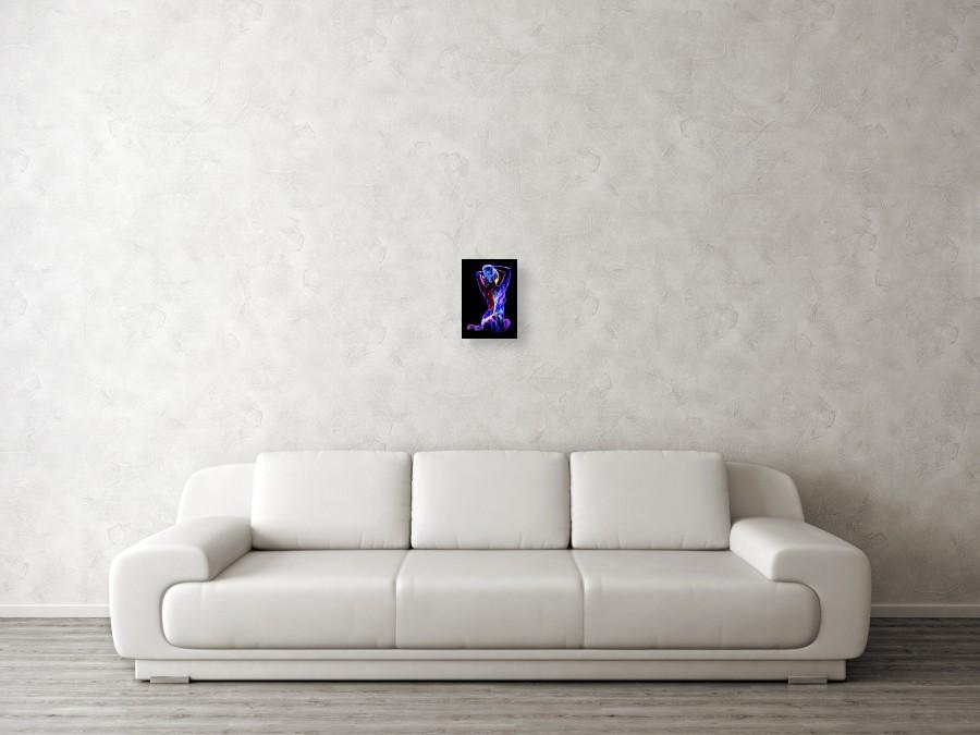 Nebula SN-2b Painting by John Poppleton