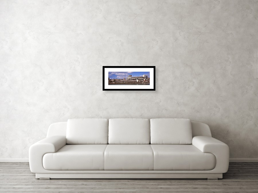 Neyland Stadium In Knoxville Framed Print by Panoramic Images