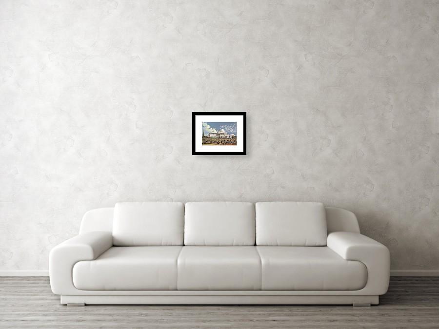 Crystal Palace New York Framed Print by WS Parkes