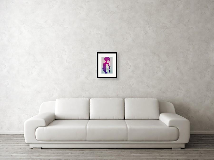 Nude Princess Leia Framed Print By Giuseppe Cristiano-4422