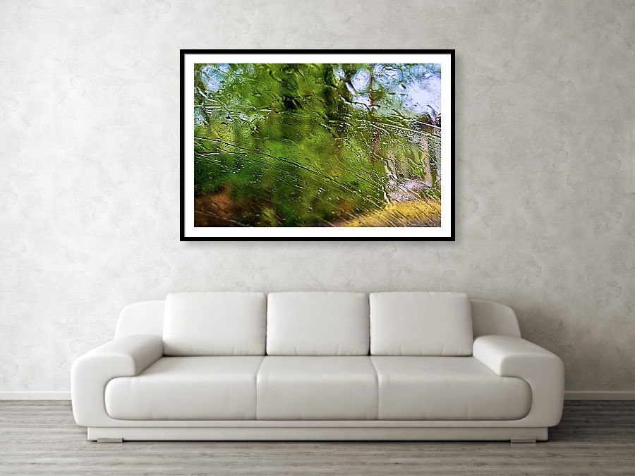 Summer rain framed print by Tatiana Travelways- Wall View