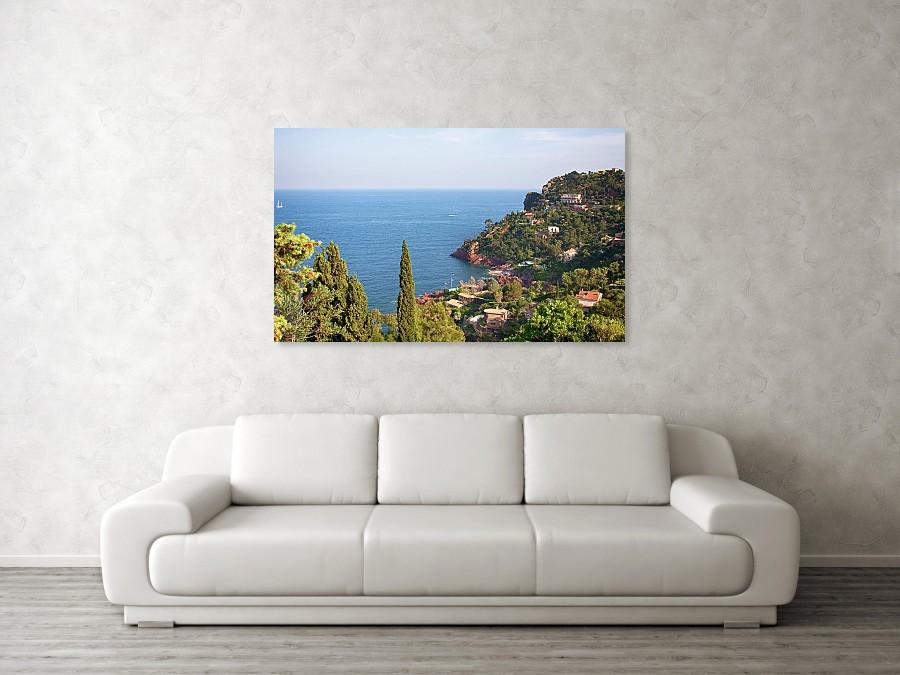 """Cote D""""Azur France art print"""
