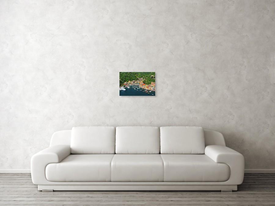 Portofino, Italy art print by Richard Krebs