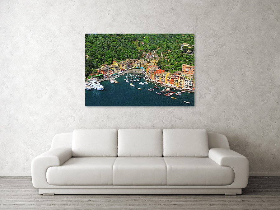 Portofino, Italy art print by Richard Krebs