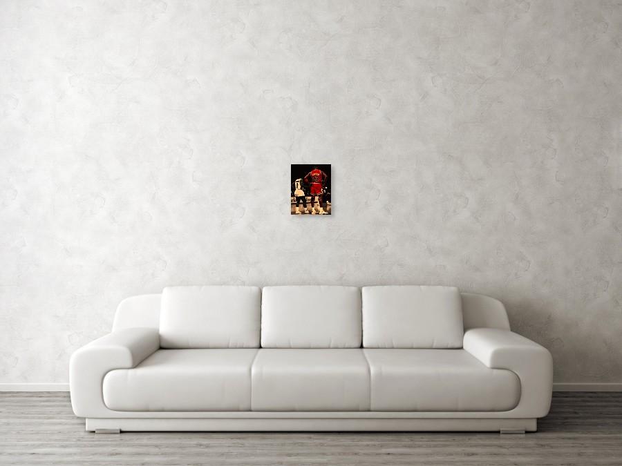 Michael Jordan Poster featuring the digital art Air Jordan And Muggsy Bogues  by Brian Reaves. Wall View 001. Wall View 002. Wall View 003 2c1d8dac0