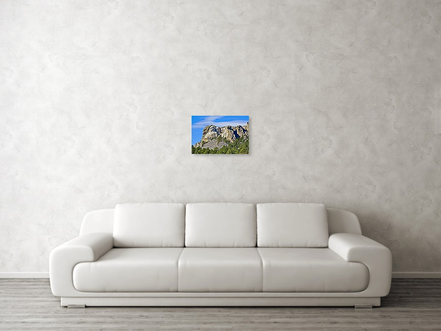 Mount Rushmore Monument art print by Tatiana Travelways