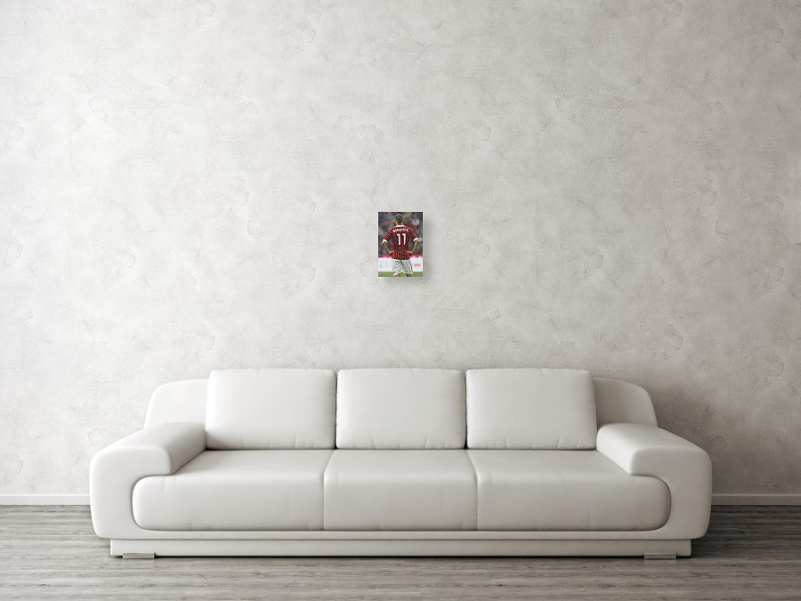 dcd726618eb Zlatan Ibrahimovic Wood Print featuring the photograph Ac Milan V Genoa Cfc  - Serie A by. Wall View 001. Wall View 002. Wall View 003