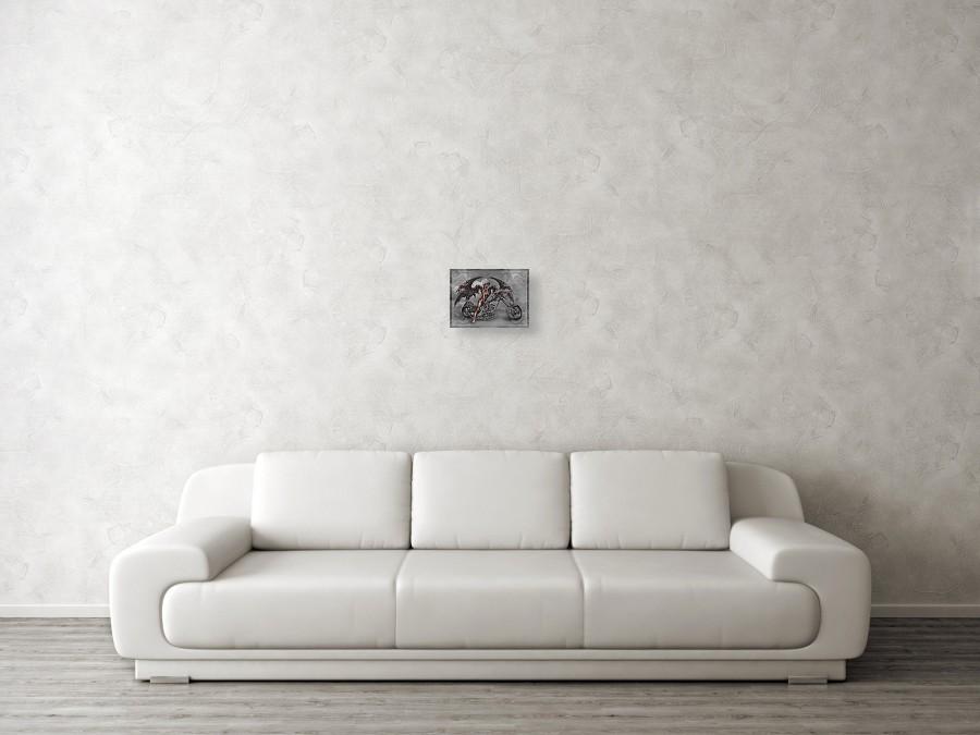 9c2a366772f ... digital art Chrome Dragon by David Bollt. Wall View 001. Wall View 002.  Wall View 003