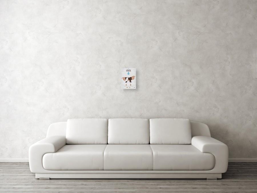 70765b661e19 ... No451 My Gremlins Minimal Movie Poster by Chungkong Art. Wall View 001.  Wall View 002. Wall View 003