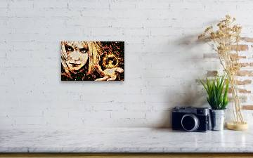 the Ifrit Acrylic Print