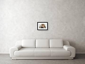 La Vierge A Lagneau Framed Print